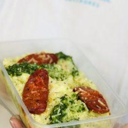 Chorizo, Green Pea And Pesto Risotto